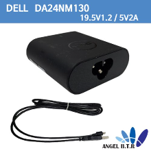 [중고][DELL]19.5V1.2A & 5V 2A 077GR6 Venue 11 8 7 Pro Tablet 24W DA24NM130 USB A-TYPE